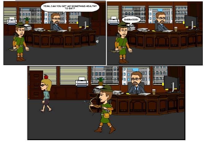 Robin Hood Cartoon 2