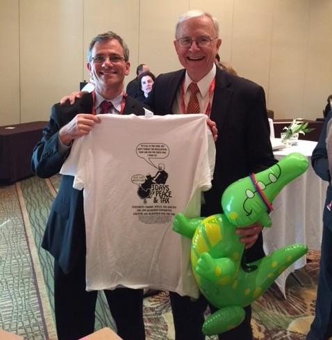 Calfee with Gassman Shirt and Alligator